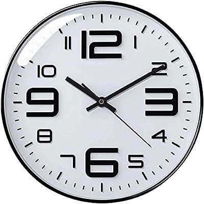 Amazon Com Ikea Pugg Wall Clock Chrome Plated Home Kitchen