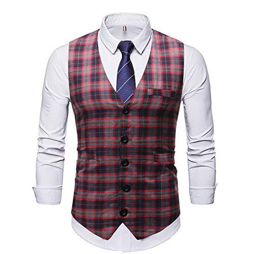 Legogo heren bedrukt pak vest jurk vest hemd West voor mannen smoking vest