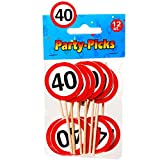 Party Picks Mini Schild Stecker