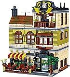 kyman - Conjunto de Edificios, Ladrillos Pequeñas partículas DIY Bloques de construcción Modelo, 3D DIY Puzzle Jugando, para Adultos y niños