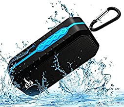Bluetooth Wireless Speakers Waterproof IPX5 with HD Enhanced Bass Outdoor Wireless Portable Phone Speakers Built-in Mic Su...
