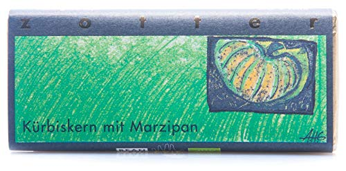 Zotter - Bio Kürbiskern Marzipan Schokolade Fairtrade - 70g