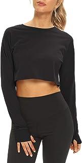 پیراهن های ورزشی ورزشی آستین بلند و کوتاه Mippo ، پیراهن های کوتاه برای زنان