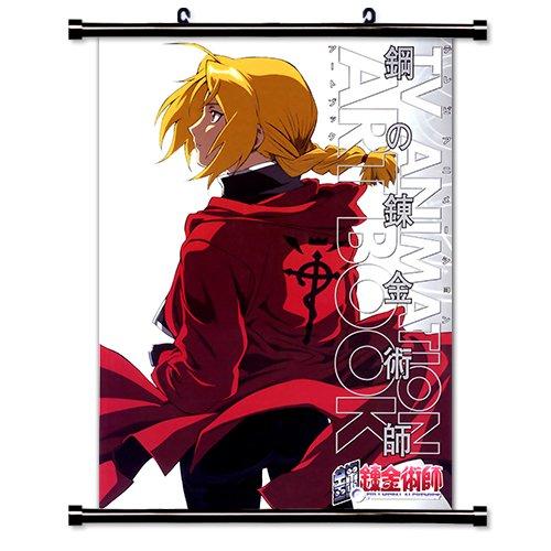 Fullmetal Alchemist Anime Fabric Wall Scroll Poster (32' X 44') Inches