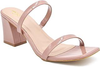 SHOOOZ Women's & Girls Stylish Block Heel Sandals