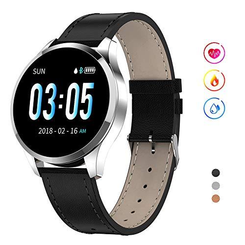 ZDY Smart Watch Q9, wasserdichte Sport-Smartwatch für Frauen, Fitness-Tracker-Uhr mit Herzfrequenz-Blutdruck-Schlaf, Aktivitäts-Tracker-Schrittzähler Kalorien für iOS/Android.