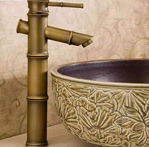 Hiendure/® 360/°Rubinetto lavabo alto lavandino monocomando miscelatore per bagno e cucina ,miscelatore rubinetto cucina con flessibili monoforo in ottone acqua fredda e calda
