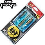 Fox Rage Texas Slick shad kit 1m 0,22mm 3,53kg Gr. 1/0 - 3 Texasrigs zum Barschangeln, Montagen zum Spinnfischen auf Barsche