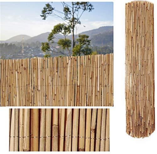 COMERCIAL CANDELA FELPUDOS Y ALFOMBRAS Cañizo de Bambu Pelado 1,5x3 Metros