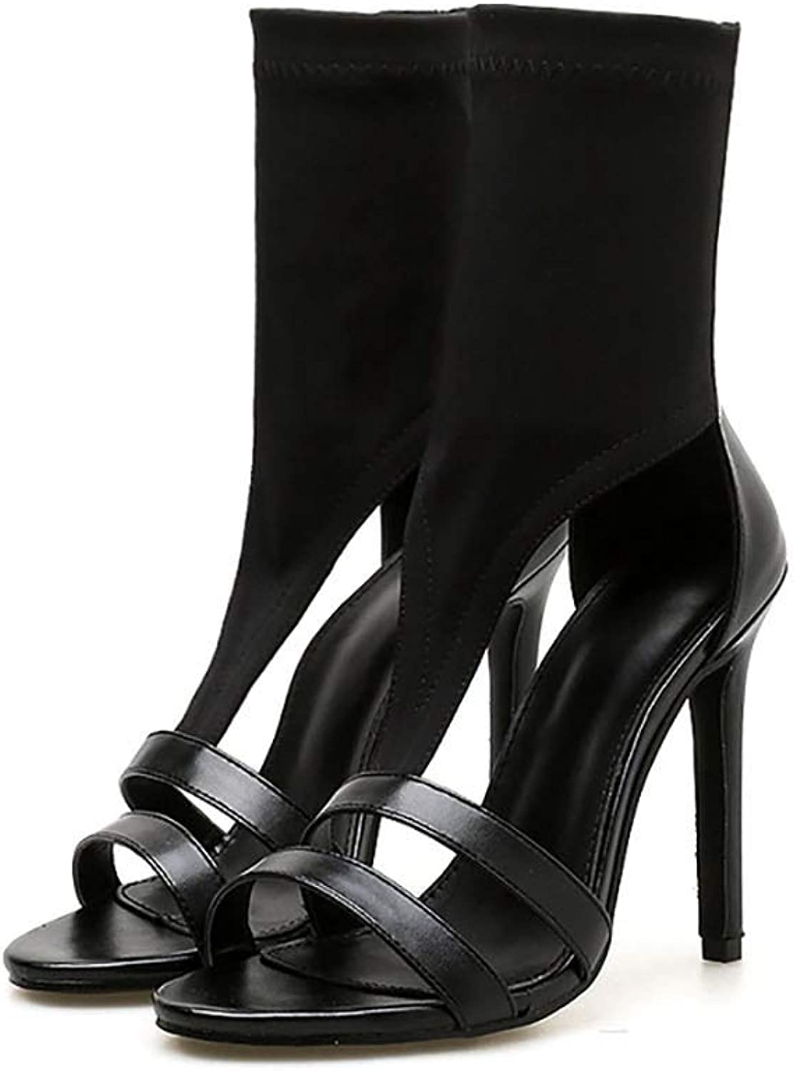 Womens Lace Up High Heel, Womens Strappy Cut Out High Heel Ladies Back Lace Up Peep Toe Sandals shoes Open Toe Lace Up Heeled Sandals,38