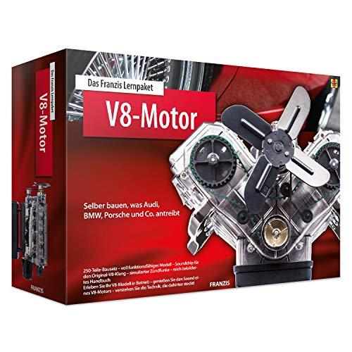 Das Franzis Lernpaket V8-Motor: Selber bauen, was Audi, BMW, Porsche und Co. antreibt