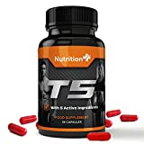 T5 Fat Burner - 2 Free Gifts with Every Order! - for Men and Women - 60 Capsules - 1 Month Supply - 100% Money Back Guarantee
