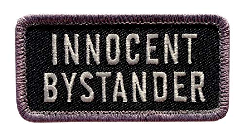 Innocent Bystander Tactical Patch [Hook Fastener - 3.0 X 1.5 MP3}