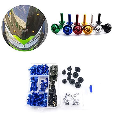 For Suzuki GSXR GSX R 600 750 K1 2001 2002 2003 Complete Fairing Bolt Screws Kit M5 M6