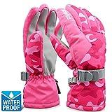 ZIONOR SG3 Winter Sport Ski Snowboard Handschuhe Wasserdicht Warm Gemütlich Anti-Rutsch für Skifahren Snowboard für Herren Damen