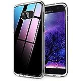 Ylife Kompatibel mit Samsung Galaxy S8 Hülle, Transparent Stoßfest, Anti-Gelb, Anti-Scratch Dünn Durchsichtige Schutzhülle TPU Silikon + Harter PC Handyhüllen für Samsung Galaxy S8 Hülle Crystal Clear