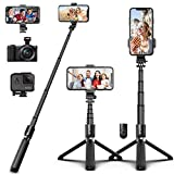 Best Selfie Sticks - SYOSIN Bluetooth Selfie Stick Tripod, Extendable Aluminum Alloy Review