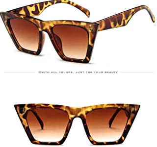 Presenting our collection of women's sunglasses 2020 Vintage Sunglasses for women. comes with six colours - Blue, red, leopard, champagne tea, black, white. When you want to express yourself look for this classic and retro frames,
