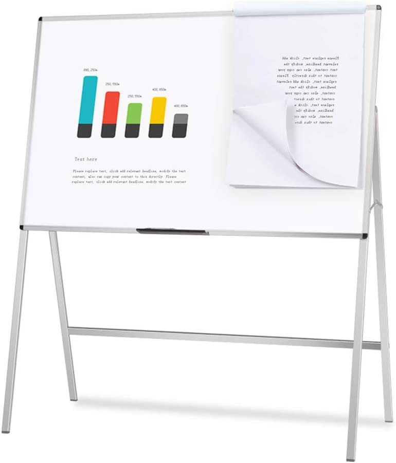 VIZ-PRO Magnetic H-Stand Whiteboard/Adjustable Dry Erase Easel,36 x 48 Inches