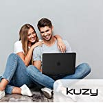 Kuzy Compatible with MacBook Pro 16 inch Case 2019 Release A2141 Plastic Hard Shell Cover for MacBook Pro Case 16 inch… 12 Compatible with MacBook Pro 16 inch Case Designed to Fits Perfectly MacBook Pro 16 inch Models A2141 with Touch Bar Touch ID Release in 2019. Your MacBook Pro will Looks Great in Kuzy Case. No cut out design Logo Shine through the Hard Cover Easy To Install and Fully Vented for safe heat disbursement Hardshell Case with Silky-Smooth Soft-Touch, Smooth yet grippy exterior texture Totally Removable. Protects your MacBook 16 inch from scrapes and scratches. Best 16 inch MacBook Pro Case Features with No cut out design, Apple Logo Shine through the case. Ultra Slick Design Lets you Open and Close your MacBook Pro 16 inch all the way and Access to all USB-C and AUX ports, Cover Weight 13oz. Lightweight and Sturdy