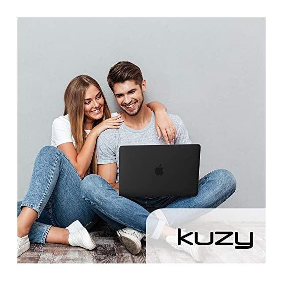 Kuzy Compatible with MacBook Pro 16 inch Case 2019 Release A2141 Plastic Hard Shell Cover for MacBook Pro Case 16 inch… 4 Compatible with MacBook Pro 16 inch Case Designed to Fits Perfectly MacBook Pro 16 inch Models A2141 with Touch Bar Touch ID Release in 2019. Your MacBook Pro will Looks Great in Kuzy Case. No cut out design Logo Shine through the Hard Cover Easy To Install and Fully Vented for safe heat disbursement Hardshell Case with Silky-Smooth Soft-Touch, Smooth yet grippy exterior texture Totally Removable. Protects your MacBook 16 inch from scrapes and scratches. Best 16 inch MacBook Pro Case Features with No cut out design, Apple Logo Shine through the case. Ultra Slick Design Lets you Open and Close your MacBook Pro 16 inch all the way and Access to all USB-C and AUX ports, Cover Weight 13oz. Lightweight and Sturdy