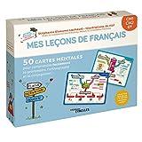 Mes leçons de français CM1, CM2, 6e - 50 cartes mentales pour comprendre facilement la grammaire, l'orthographe et la conjugaison !