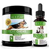 HEMP CHEWS (200 Count) – These hip and joint chews for dogs have been carefully formulated using the most effective and safe, naturally derived ingredients that are supported by research that shows improvements in joint stiffness and overall joint he...