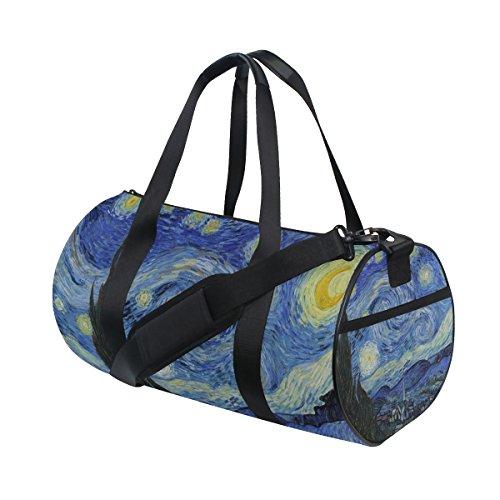 JSTEL Van Gogh Noche estrellada Sky Sports Gym Bag