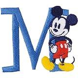 パイオニア アルファベット ワッペン ディズニー ミッキーマウス MY4001-MY311