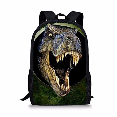 Nopersonality Fashionable Kids Dinosaur Backpack Popular Teen Boys School Bookbag