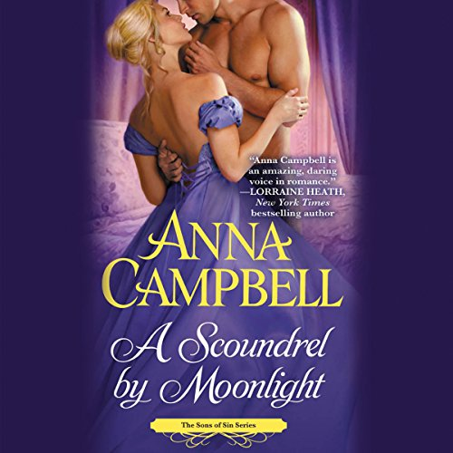A Scoundrel by Moonlight audiobook cover art
