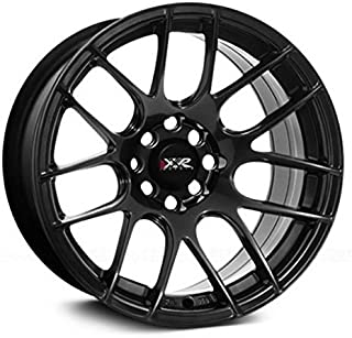 XXR Wheels 530 Chromium Black Wheel with Painted Finish (18 x 7.5 inches /5 x 100 mm, 38 mm Offset)