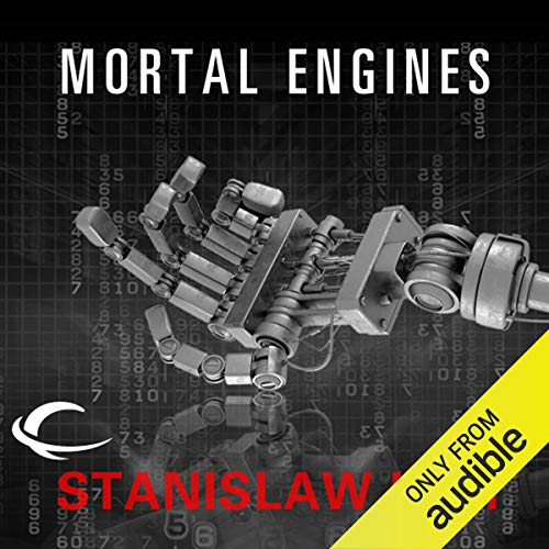 Mortal Engines audiobook cover art
