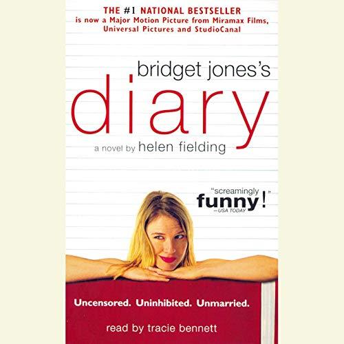 Bridget Jones's Diary audiobook cover art