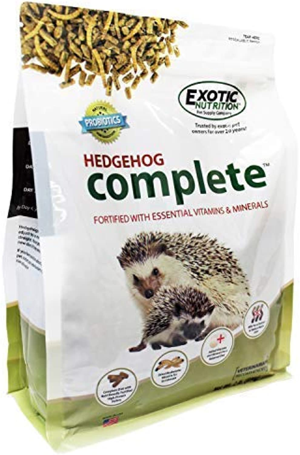 Hedgehog Complete (18 lb.)  Nutritional Food for Hedgehogs