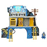 3 LEVELS OF PLAY: The 3-in-1 Batcave Playset has 3 levels to play out your missions! Split the sections apart and use them separately to extend your play or stack them together into one epic playset! 2-SIDED PLAY: There's 2 action-packed sides of the...