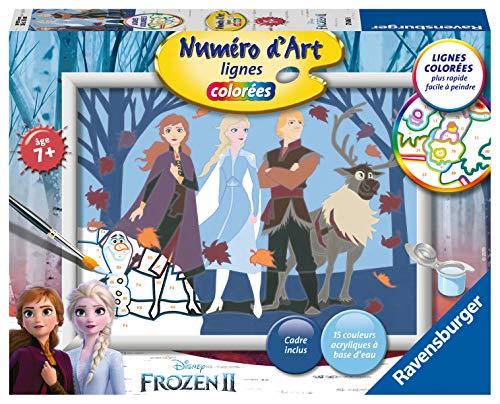 Ravensburger 4005556276868 - Número de Arte Mediano, diseño de Frozen
