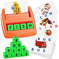 ATOPDREAM Educational Flash Cards Matching Letter Game