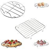 Cestas para huevos, rejilla refrigeradora, acero inoxidable, Soporte de Vapor de Ollas de Cocina, Se puede utilizar para...