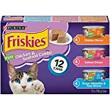 Purina Friskies Chicken & Seafood Combo Cat Food Variety Pack 12-156 g Cans