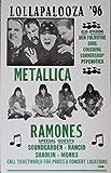 Lollapalooza '96 with Metallica and The Ramones