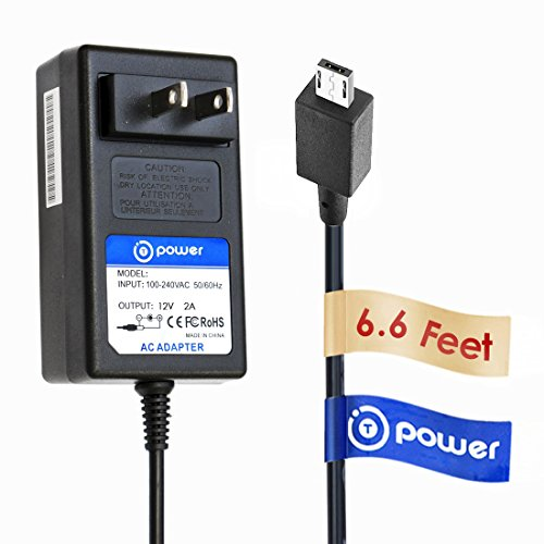 T POWER (12v) Ac Dc Adapter Compatible with Asus-Chrome-C201 C201P C100 C100P Chrome book Flip P,N : ADP-24EW B 0A001-00130700 Power Supply Charger