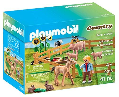 Playmobil Tractor marca Playmobil