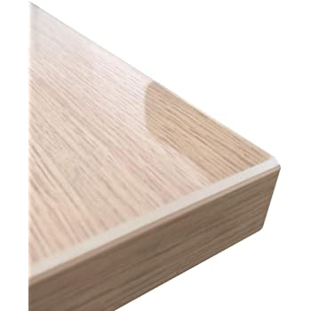 Tischfolie 2,2-2,5 mm PVC Schutzfolie Transparent Tischdecke 5 breiten vorhanden