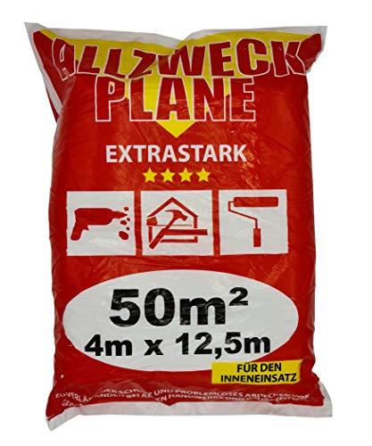 Preisvergleich Produktbild Jufol 10241,  5m Allzweckplane Extrastark 4 x 12,5 50m²