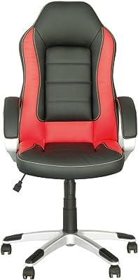 RACER SPORT - Silla de dirección gaming de oficina con mecanismo de inclinación ajustable. Color