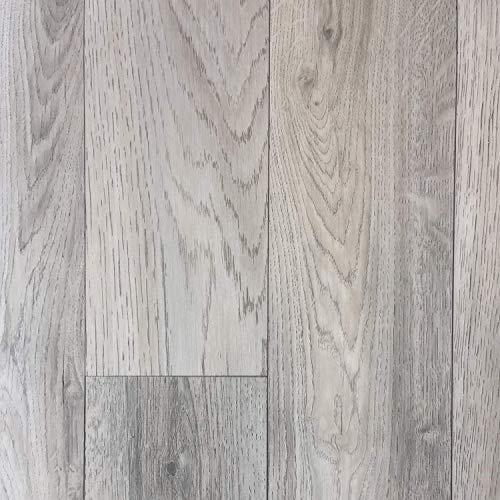 PVC Vinyl-Bodenbelag in grauem Vintagelook | PVC-Belag verfügbar in der Breite 3 m & in der Länge 5,0 m | CV-Boden wird in benötigter Größe als Meterware geliefert | rutschhemmend