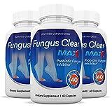 (3 Pack) Fungus Clear Max Pills 40 Billion...