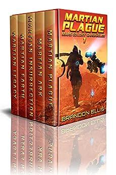 Mars Colony Chronicles (Books 1 - 5): A Space Opera Box Set Adventure by [Brandon  Ellis]