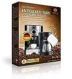 Coffeeano 30x Entkalkungstabletten XL für Kaffeevollautomaten und Kaffeemaschinen. Entkalkungs-Tabs...